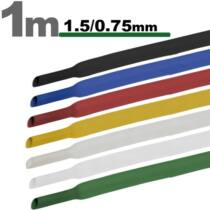 Zsugorcső 1 méter - 1,5/0,75 mm