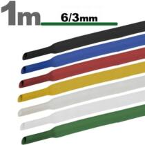 Zsugorcső 1 méter - 6/3 mm