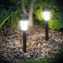 LED-es kültéri szolár lámpa 300 x 45 mm