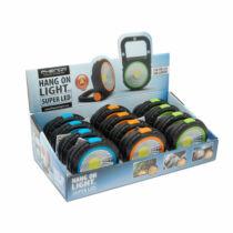 Kinyitható munkalámpa COB LED - 2 W - elemes