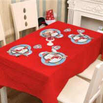 Karácsonyi Tányér- és poháralátét - 8 db-os készlet