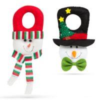 Karácsonyi kilincs dekor