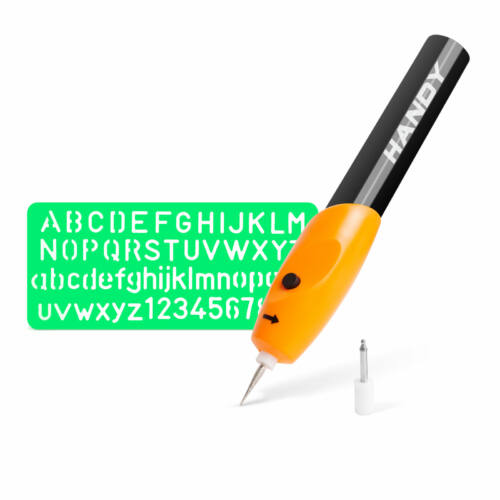 Gravírozó ceruza elemes 3.0V sablonnal