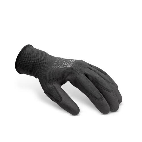 Szerelőkesztyű nitril fekete