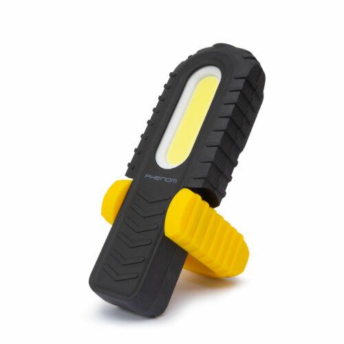2 in 1 Steklámpa COB LED akkumulátoros