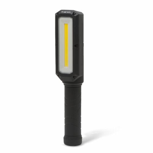 Munkalámpa nagy fényerejű COB LED vészjelző funkcióval