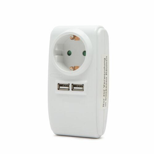 USB hálózati adapter 2 x 1A vagy 1 x 3A