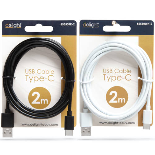 Adatkábel - USB Type-C - 2 m