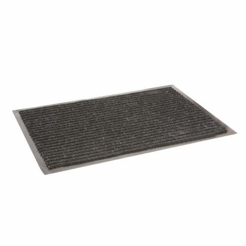Lábtörlő szegéllyel - fekete - 60 x 40 cm