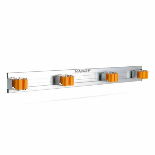 Falra szerelhető 4 részes szerszám és takarítóeszköz tartó