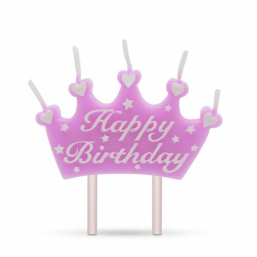Gyertya - korona Happy Birthday