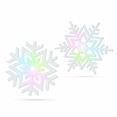 Világító hópehely - RGB LED-del - 10 cm